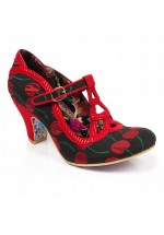 Irregular Choice Nicely Done (Black/Red)